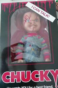 "Talking Chucky 38cm Mega Scale Doll Horror Puppe Childs Play 15"" Figur Mezco"