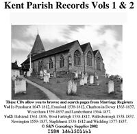 Kent Parish Registers - Complete Phillimore Marriage Records