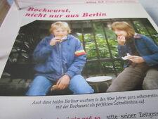 Das war die DDR Alltag Essen & Trinken Bockwurst nicht nur aus Berlin