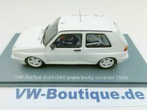 Volkswagen VW Golf 2 Rally G 60 Neo 1:43 IN Blanco Sólo 150 St Plainbody