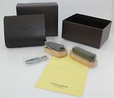 "Dolce & Gabbana ""Intenso"" Shoe polishing set, New, Authentic, Nice gift!"