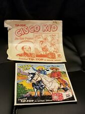 1953 Cisco Kid & Pancho Tip Top Bread Premium Puzzle 1950's Western w/envelope