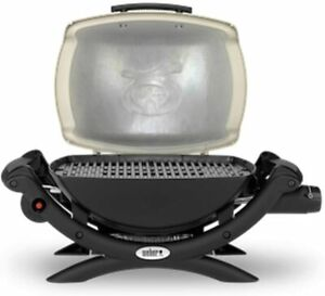Weber Q 1000 Outdoor Gas BBQ - Titanium (121593) NEW AND SEALED