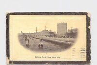 PPC POSTCARD NEW YORK CITY BATTERY PARK PIER VIEW FROM WATER