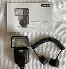 Metz Mecablitz 48 AF-1 Digital Electronic Flash For Olympus Panasonic Leica