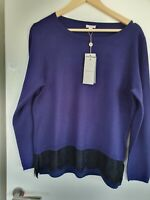 BNWT Precis viscose blend jumper size Large (size guide 14/16)