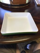 Emile Henry Green and White Rectangular Baking Dish-Casserole - 9X9. 20.05