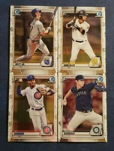 2020 Bowman Draft Chrome Base 1st Prospects Top Prospects You Pick