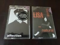 Lisa Stanfield - Affection (1990) & So Natural (1993) Cassettes