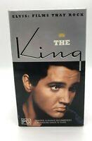 Elvis The King Collectors VHS 3 Box Set -LoveMeTender/FlamingStar/WildInTheCoun