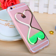 Dynamic Liquid Glitter Quicksand Clear Soft Case Cover For iPhone 8 7 6 6s Plus