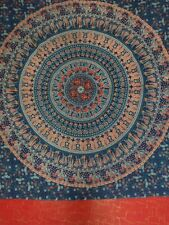 Indian Hippie Tapestry Handmade Cotton Mandala Wall Hanging Queen Boho Bedding