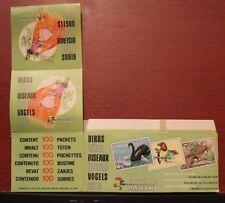 FIGURINE PANINI BIRDS STICKERS EMPTY STICKER BOX