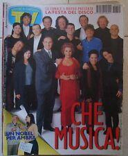 TV Sorrisi e Canzoni n 50 del 1997 Angiolini,Fo,Depp..