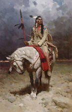 Z S Liang PRIDE OF PIEGAN, Native American, MasterWork™ giclee #1/15