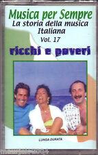 Ricchi e Poveri I Successi (2001) Musicassetta NUOVA Voulez vous dancer Cosa sei