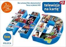 DOLADOWANIE KARTY NA PAKIET DOMOWY HD 3 MIESIACE NC+ NA KARTE CYFROWY POLSAT