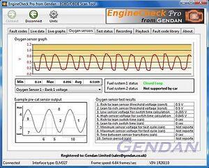 EngineCheck Pro Software for ELM327 EOBD Engine scanner