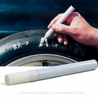 1 White Permanent Paint Pens Marker Car Tyre & Metal Waterproof Fast Drying QC