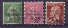 France Yv 253-255 Used  Cv € 112.00 Dette publique; Government debt 1354