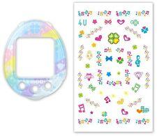 TAMAGOTCHI 4U Rainbow Melody Decorative Sticker & Cover  New From ykr2_japan