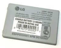 LG LGIP-401N Replacement Lithium Ion Polymer Battery 3.7V 1250mAh for LN510