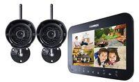 Lorex LW1742 Live SD Wireless Recording Video Surveillance System with 2 Cameras