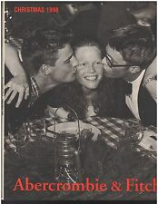 Abercrombie & Fitch 1998 Christmas Catalog A&F Bruce Weber 160p issue BW cover