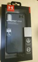 Under Armour UA Protect Verge Case Apple iPhone X iPhone XS - Clear/Black NEW