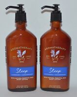 2 BATH BODY WORKS AROMATHERAPY SLEEP LAVENDER CEDARWOOD LOTION HAND CREAM 6.5 OZ