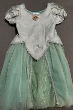 Disney Parks - Ariel (knee length) Princess Gown (Green/Silver) - Size 6-6X