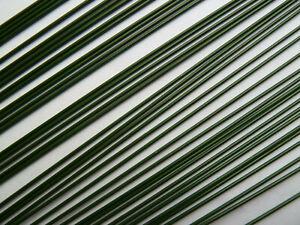 Steckdraht, Blumendraht, Stützdraht - grün Ø 1,60mm / Länge 40cm / 200g
