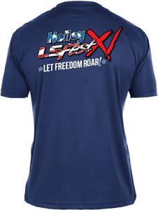 Holley 10258-XLHOL LS Fest 2020 Let Freedom Roar Performance Tee
