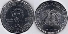 BOLIVIA 4 coins 2 bolivanos