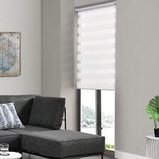 Duo Rollo 40x150cm Blanc sans Perçage Zèbre Vario