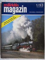 märklin magazin - Die Zeitschrift für Modell-Eisenbahner - Ausgabe 1/93