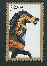 Scott # 2977...32 Cent...Carousel Horse...25 Stamps...MNH