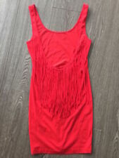 Clubwear Short Dresses for Women with Fringe