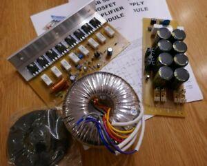 EBB 500 Mosfet Amplifier Mono Kit includes PSU & Transformer Project Disco