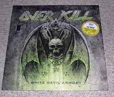 Overkill - White Devil Armory (2LP, Yellow Vinyl, VIP, 100 Copies, New & Sealed)