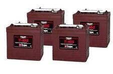 Trojan T105 x 4 6v 225Ah Deep Cycle Batteries (T-105) t105