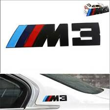 Black M3 Metal 3D Emblem Badge Car sticker Logo for BMW 3 Series M3