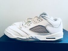buy popular 25c6d 94e19 2015 Youth Nike Air Jordan V 5 Metallic Silver White Blk Size 6.5Y Used DS
