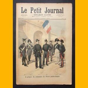 LE PETIT JOURNAL Suppl. illustré UNIFORMES ÉCOLE POLYTECHNIQUE 2 avril 1894