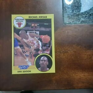 1991 STARTING LINEUP CARD MICHAEL JORDAN CHICAGO BULLS