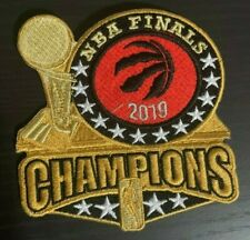 2019 NBA CHAMPIONS PATCH FINALS TORONTO RAPTORS GOLD EDITION IRON OR SEW ON 4""