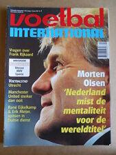 VOETBAL INTERNATIONAL 21-01-1998 Morten Olsen Ajax  [P66]