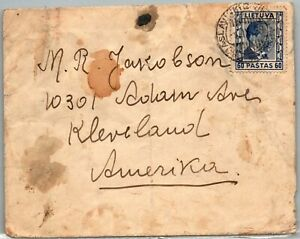 GP GOLDPATH: LITHUANIA COVER 1938 _CV634_P20