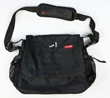 SKIP*HOP Boy Girl Black Messenger Diaper Stroller Travel Bag (w/o Pad) EEUC gj