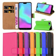 For Huawei Honor 10 Case, Leather Wallet Stand View Book Flip Card Cover Pouch